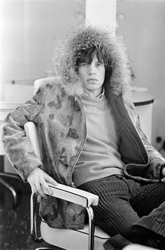 Mick Jagger photographed by Terry O'Neill