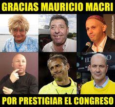 El PRO prestigia el Congreso.