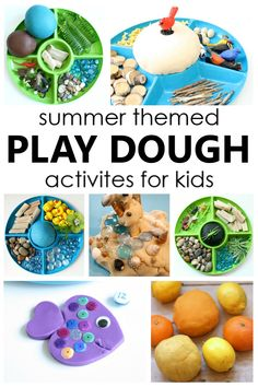 Try one of these fun summer play dough activities to inspire pretend play, work fine motor muscles, and explore different summer themes. Summer Activities For Kids, Toddler Activities, Kids Fun, Top Toys For Boys, Independence Day Activities, Preschool At Home, Preschool Activities, Playdough Activities, Sensory Play