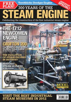 Special Issue: 300 Years of the Steam Engine in Industry