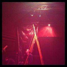 La Tempesta, di W.Shakespeare Regia di Giles Smith - Backstage. MurAttori. #theatre #cometaoff #roma #lights