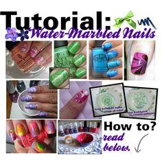 water marble nail polish - Google Search