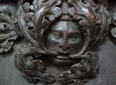Green Man in a church in King's Lynn, Norfolk, England (photo Sean Breadin)