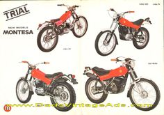 1976-ish Montesa Cota 348 and more new models brochure, photos & specs