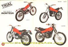 1976-ish Montesa Cota 348 and more new models brochure, photos & specs