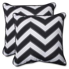 Chevron Indoor/Outdoor Throw Pillow