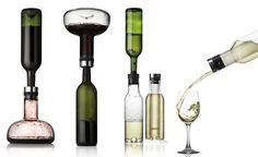 Zestaw 2 karafek - oddychająca do wina i do wody - DECO Salon. Set of 2 exclusive #carafes - breathable / decanter for #wine and decanter for #water. #menu #scandinaviandesign #giftidea #fathersday