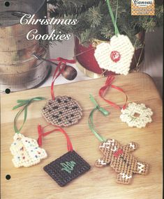 Christmas Cookies Plastic Canvas Pattern by needlecraftsupershop, $3.00