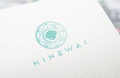 Logo Design / graphic design / hinewai / ocean / water girl / new zealand / branding / identity / business card / mimpy and co Brand Identity, Branding, Girl In Water, Logo Design, Graphic Design, Stationery, Ocean, Graphics, Logos