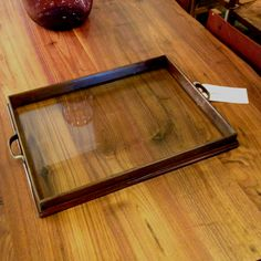 Tray for ottoman