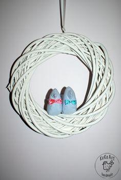 2 cotton birds #cotton #birds #handmadedecor #handmade #kokoart