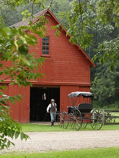 Amish country is a MUST SEE.
