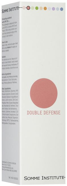 $48 Somme Institute Double Defense Day Moisture SPF30+