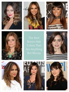The Best Brown Hair Colors That Are Anything But Mousy