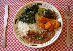 o arroz com feijão