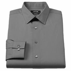 Apt. 9 Slim-Fit Stretch Spread-Collar Dress Shirt - Men