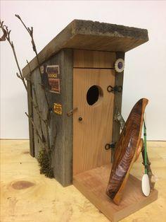 Wood Crafts, Bird, Outdoor Decor, House, Home Decor, Decoration Home, Home, Room Decor, Birds