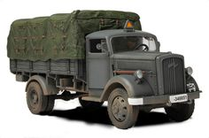 FOV 80038  WWII German Opel Blitz Truck Kfz.305 , Eastern Front, 1941     Forces of Valor die-cast vehicles feature:  - Die-cast metal construction with some plastic components.  - Rotating turret, elevating cannon and accurate hull.  - Moving tracks on detailed rotating wheels.  - Realistic panel lines, antennas, access panels and surface details.  - Pad printed markings and placards that won't fade or peel like decals.