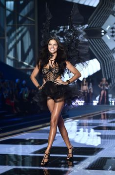 Brazilian model Adriana Lima walks the runway during the 2014 Victoria's Secret Fashion Show at Earl's Court exhibition centre in London on December AFP — AFP/Getty Images Victoria Secrets, Victoria Secret 2014, Victorias Secret Models, Victoria Secret Fashion Show, Adriana Lima, Top Models, Victoria's Secret Angels, Vs Fashion Shows, Julie