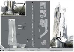 Four Towers in One Competition / Morphosis