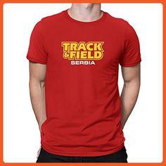 Teeburon TRACK FIELD Serbia T-Shirt - Sports shirts (*Partner-Link)