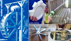 Integrate math (measuring), science / engineering (simple machines, force/motion, renewable energy), art (design), and history by constructing a water wheel!