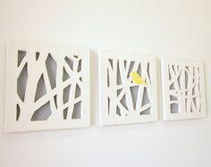 gray and yellow nursery | eclipsedbynature # decor # wall art