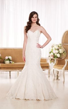 Essense Style #D1846 Available at It's Your Day Bridal Boutique. 1661 Front Road, LaSalle, Ontario 519-978-5003