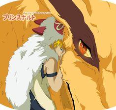 Princess Mononoke/Naruto crossover