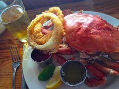 Steamed Dungeness Crab @ Santa Barbara Shellfish Company, Santa Barbara Pier/passioneats: Sunshine, Hipness, and Plenty of Uni