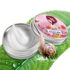 AFY Snail Cream Face Skin Care Treatment Reduce Scars Acne Pimples Moisturizing Whitening Anti Winkles Aging Facial Cream