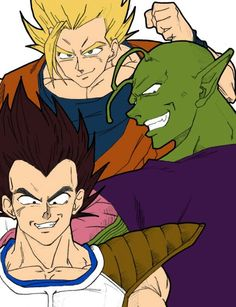 Dragonball z, with modern anime style