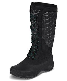 The North Face Thermoball Utility Boot Women's TNF Black/Kokomo Green 9 >>> Want to know more, click on the image.