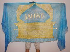 Worship Dance Silk, Scarf, Arc of Covenant, Jahwe, Worship, Anbetungstücher, Tanztücher, Banner, Bundeslade Worship Dance, Silk Painting, Flags, Banners, Art, Instruments, Art Background, Banner, Kunst