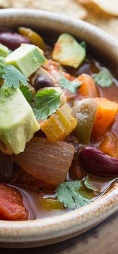 Butternut Cashew Chili - Saving Room for Dessert