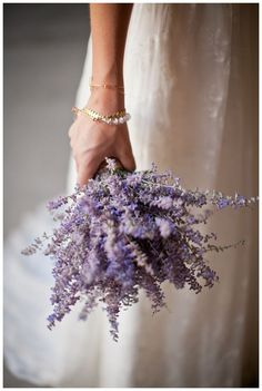 Lavender Wedding Bouquet Ideas