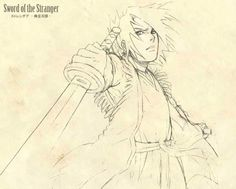 Sword of the Strangers Sketch by Yopakfu