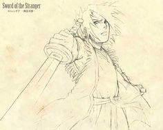 Sword of the Strangers Sketch by Yopakfu