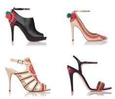 Caroline Issa for LK Bennett Shoes