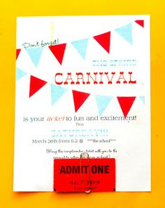 Carnival Advertising and other Craziness