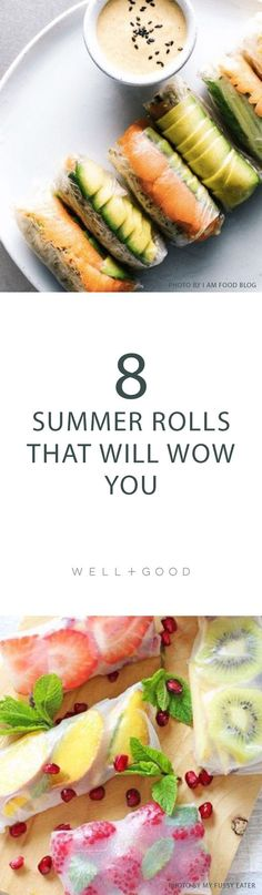 Healthy summer roll recipes