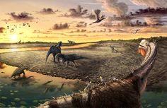 Dinosaur Trails and Tracksites near Moab, Utah