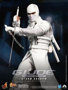 "1//6 scale Sideshow G.I Joe Storm Shadow 7 pcs Hand Set  for 12/"" action figure"