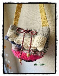 crochet purse ♡