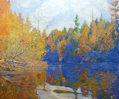 Garth Armstrong - Pine Lake, Gooderham 30 x 36