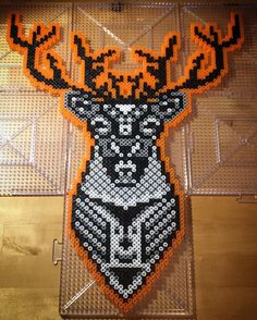 Deer hama beads by xxliliiexx