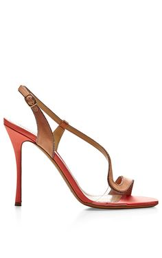 Shop Satin+and+PVC+Sandals+by+Nicholas+Kirkwood+Now+Available+on+Moda+Operandi