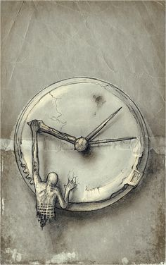 "Lucian Stanculescu, ""Time Eccentric - VIII"", Drawing & Photoshop, 2009"
