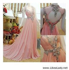 WOW! I'm sure I can find an occasion to wear this....Swarovski detail evening gown