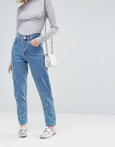 Mom Jeans | High Waisted Boyfriend Jeans | ASOS